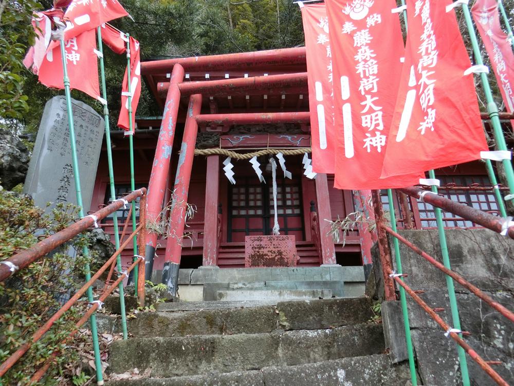 藤森稲荷神社の紹介
