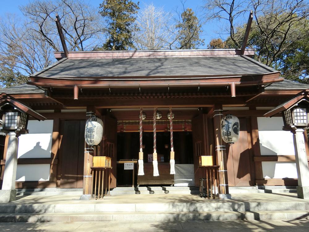 代田八幡神社の紹介