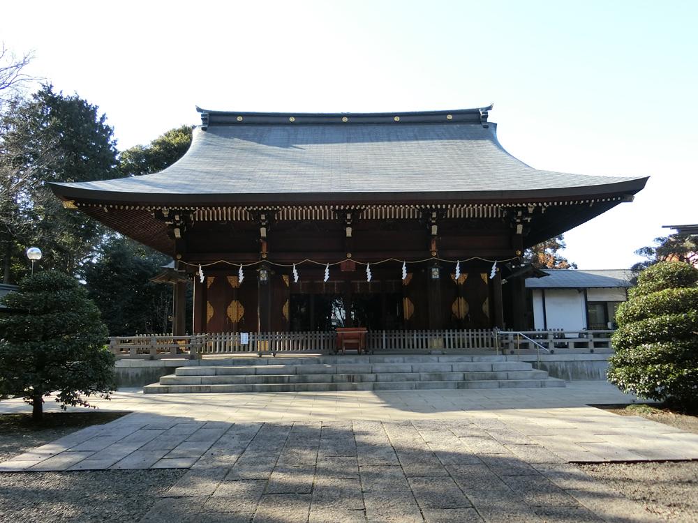 喜多見氷川神社の紹介