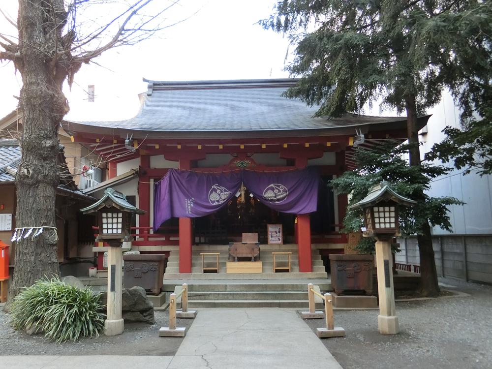 日枝神社日本橋摂社の紹介