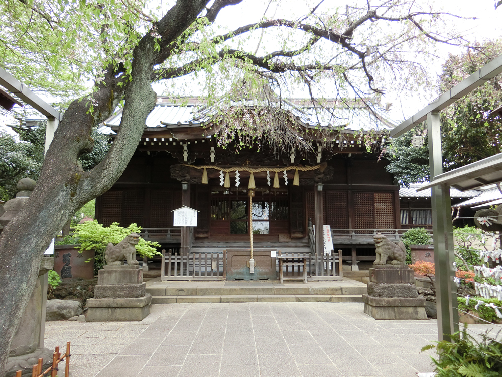白山神社の紹介
