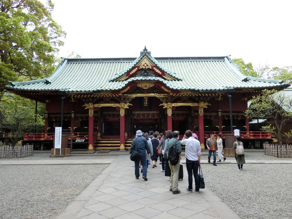 根津神社の紹介