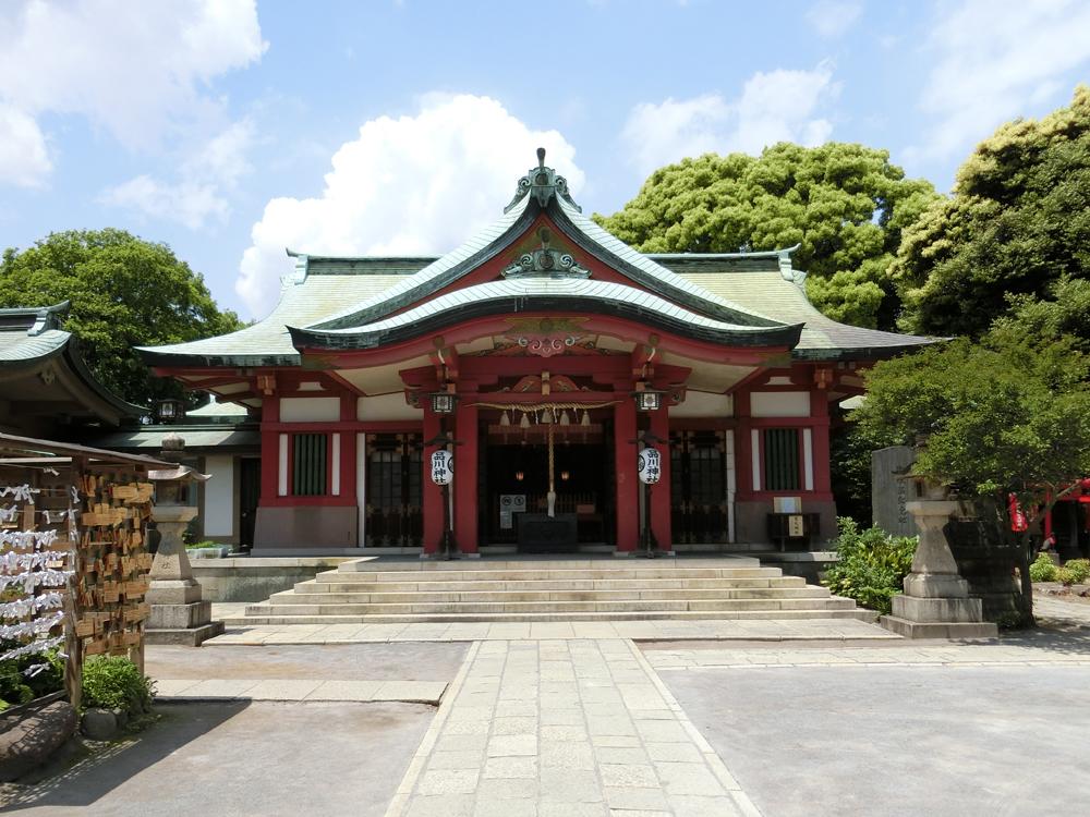 品川神社の紹介