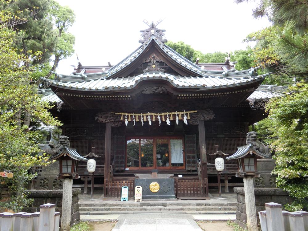 荏原神社の紹介