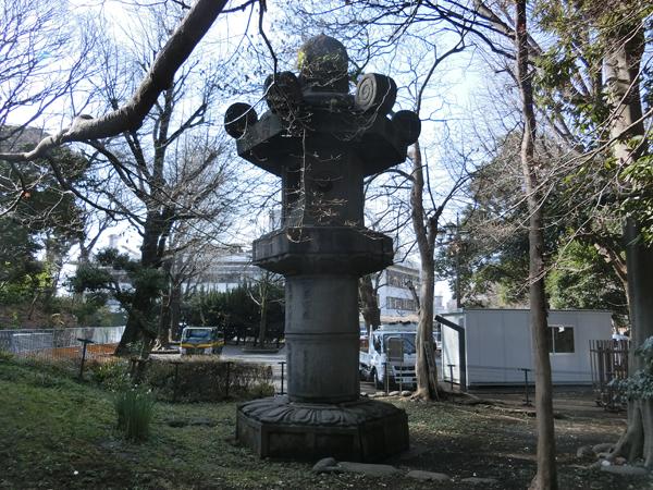 上野公園のお化け燈籠