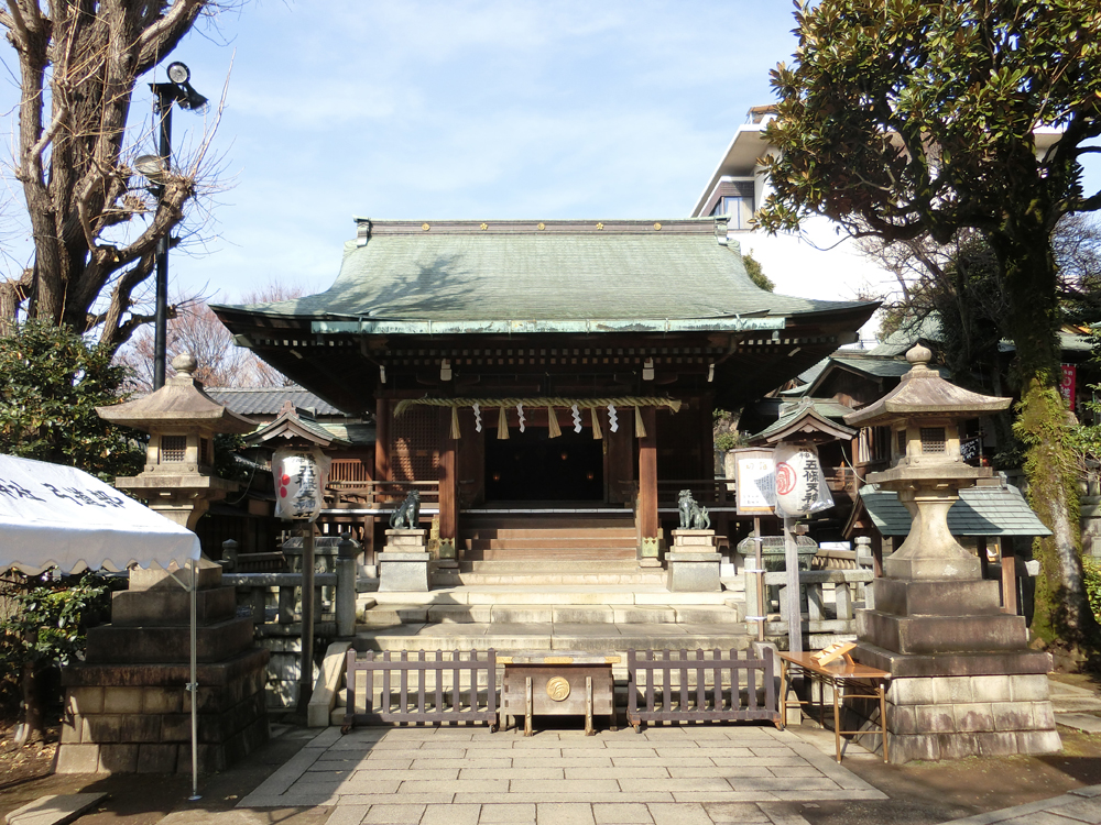 五條天神社の紹介