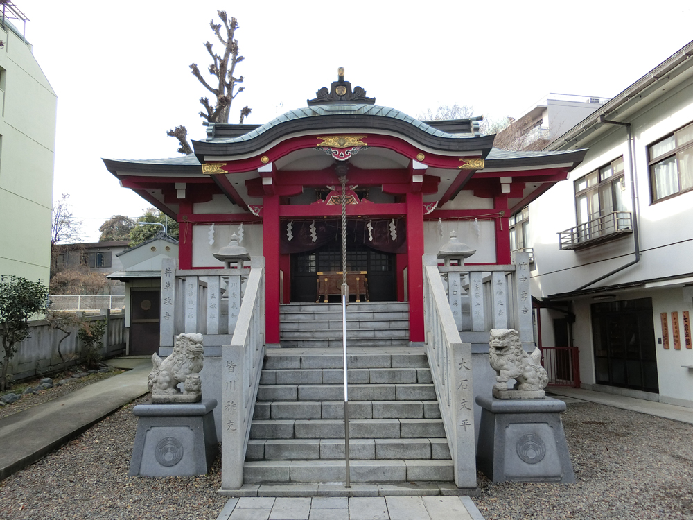 七倉稲荷神社の紹介