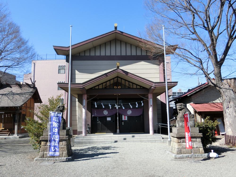 日野八坂神社の紹介