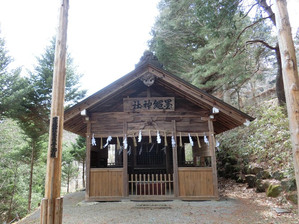 墨縄神社の紹介