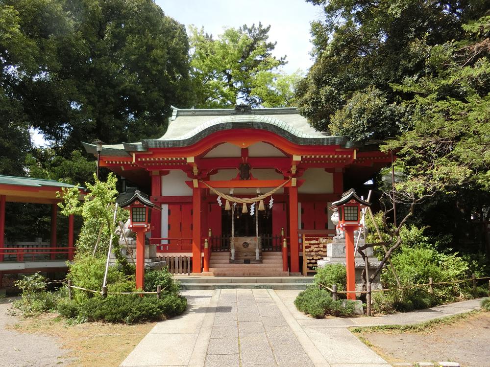 自由が丘熊野神社の紹介