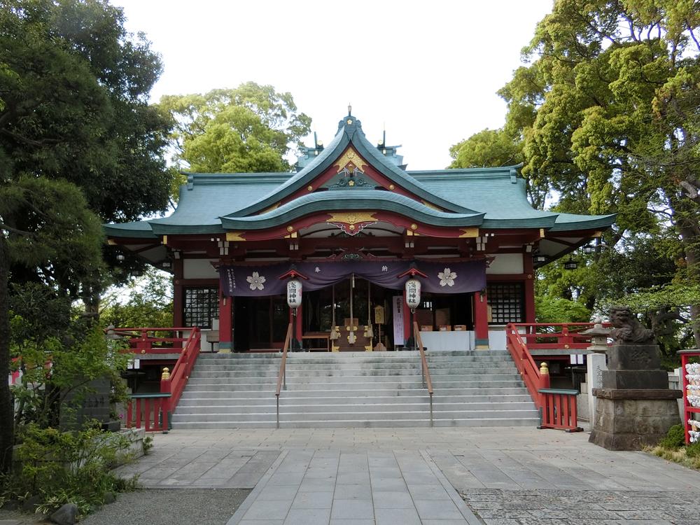 多摩川浅間神社の紹介