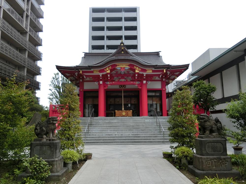 成子天神社の紹介
