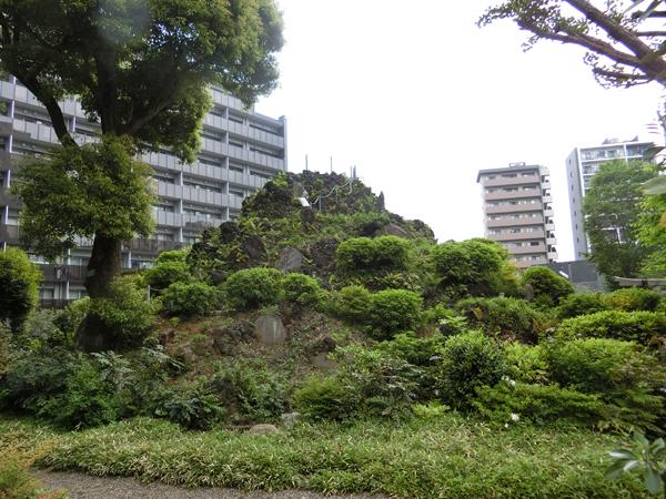 成子天神社の富士塚