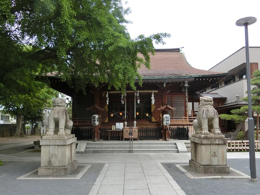 鎧神社の紹介