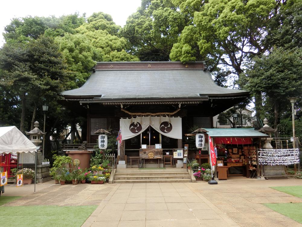 太子堂八幡神社の紹介