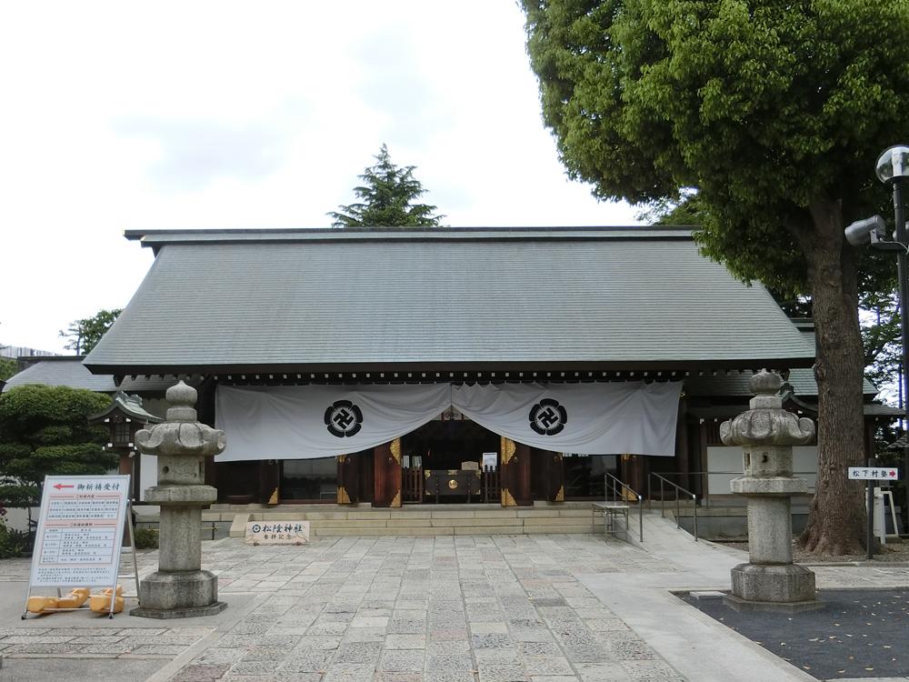 松蔭神社の紹介