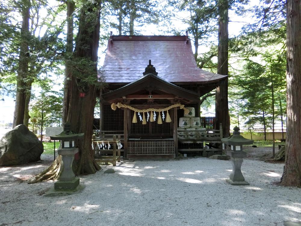 御座石神社の紹介