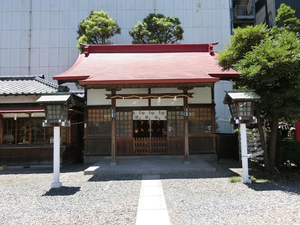 羽衣町厳島神社の紹介