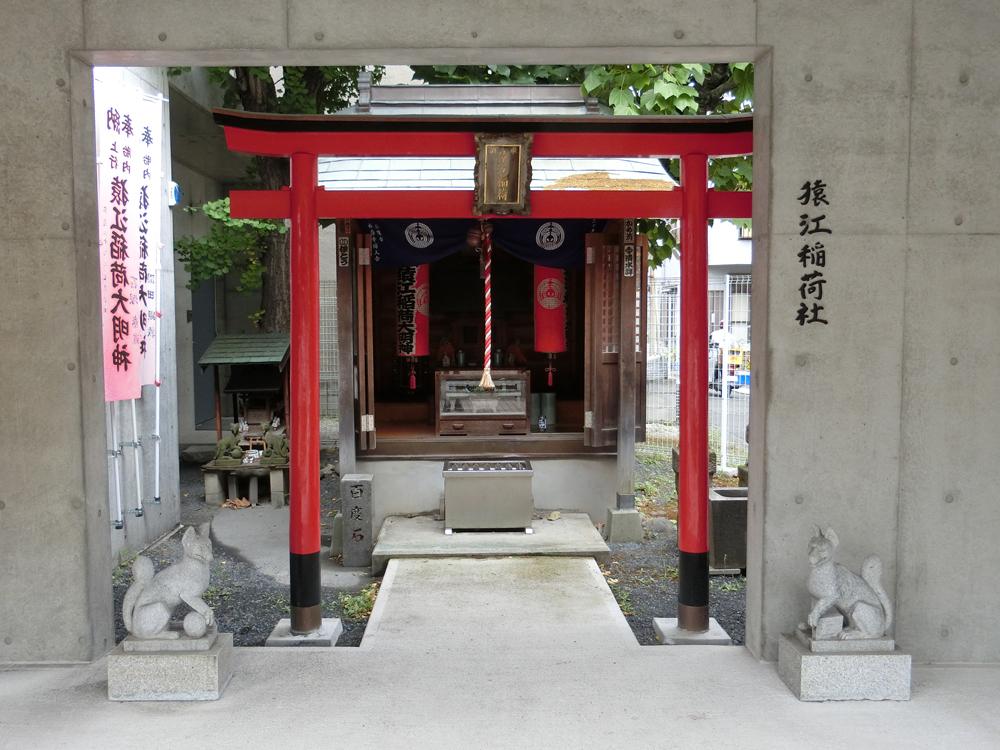 猿江稲荷社の紹介