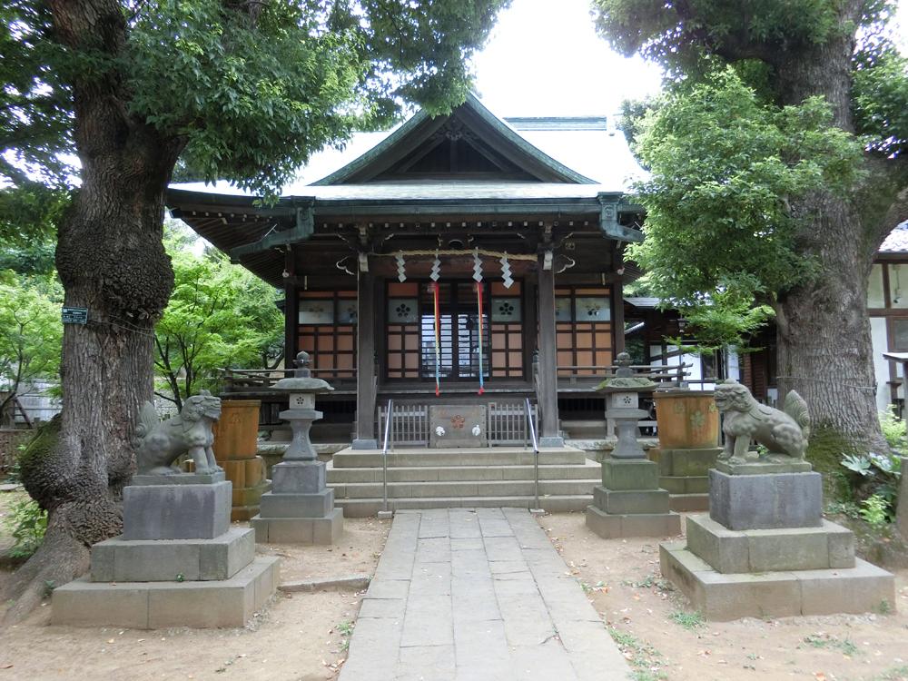 西向天神社の紹介