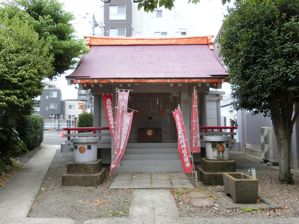 新宿余丁町にある出世稲荷神社の紹介