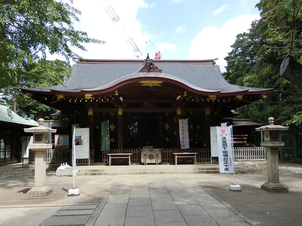 渋谷氷川神社の紹介