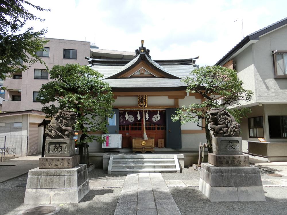 穏田神社の紹介