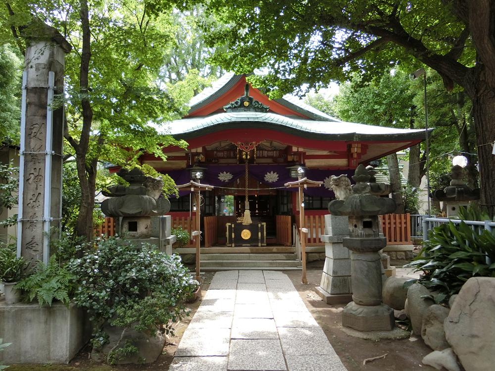 向島秋葉神社の紹介