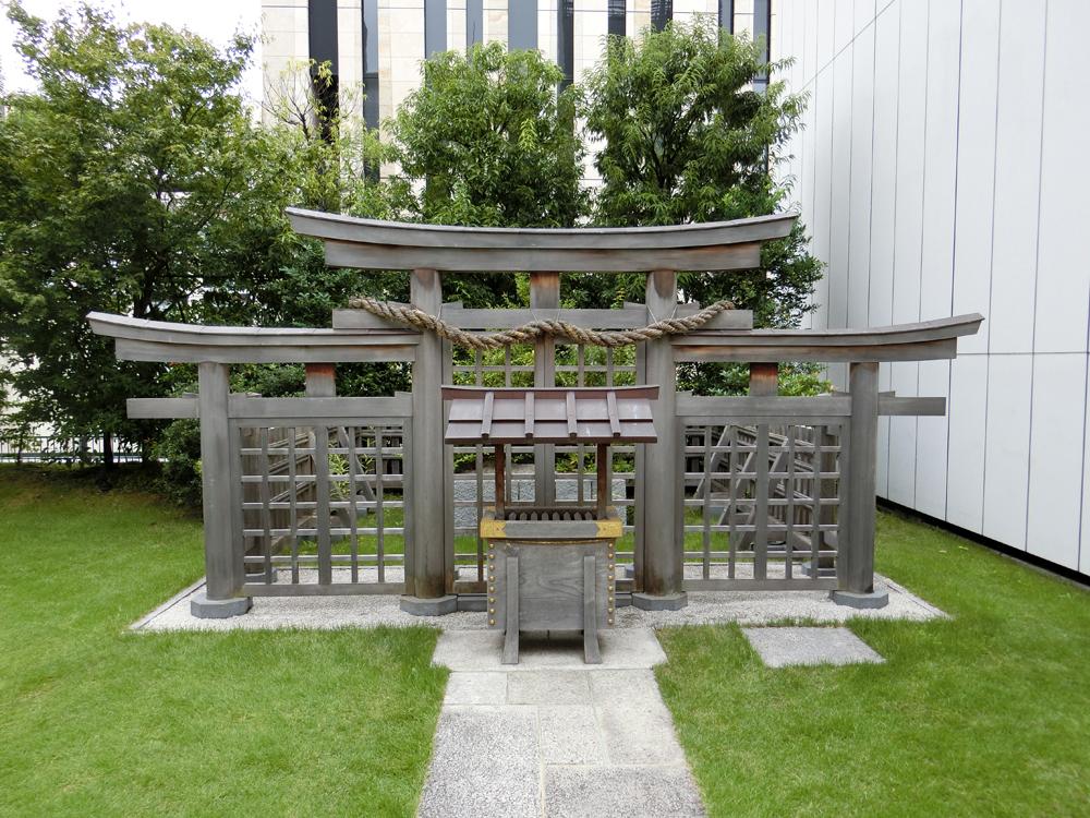 銀座にある三輪神社の紹介