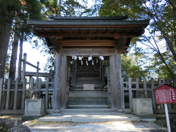 武蔵御嶽神社の左の狼