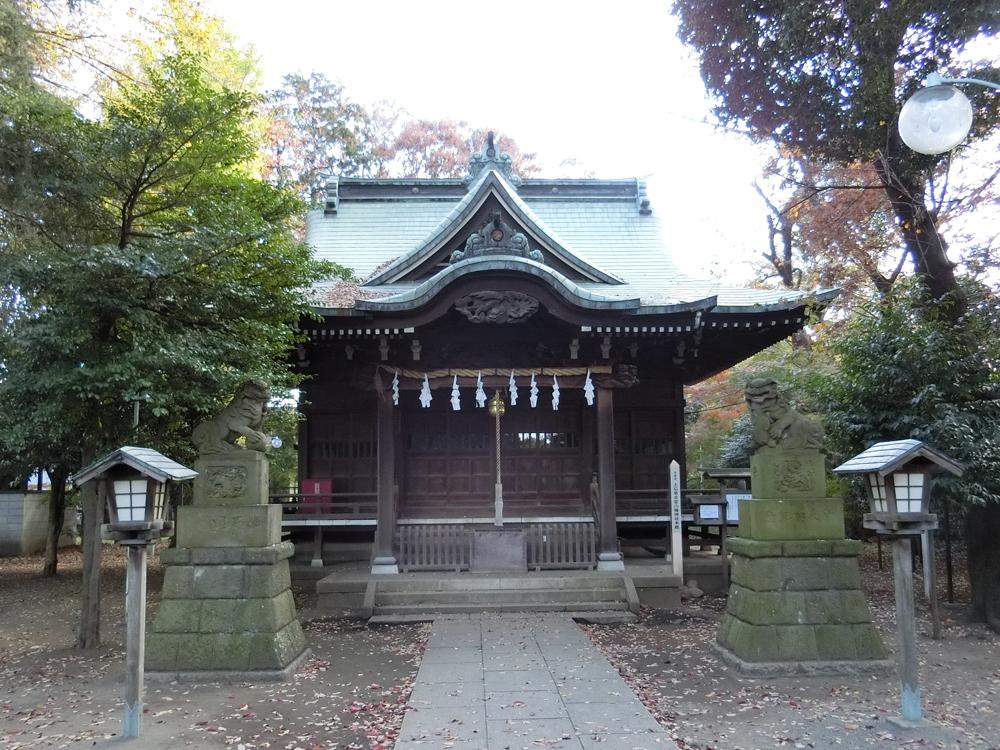 上石原若宮八幡神社の紹介