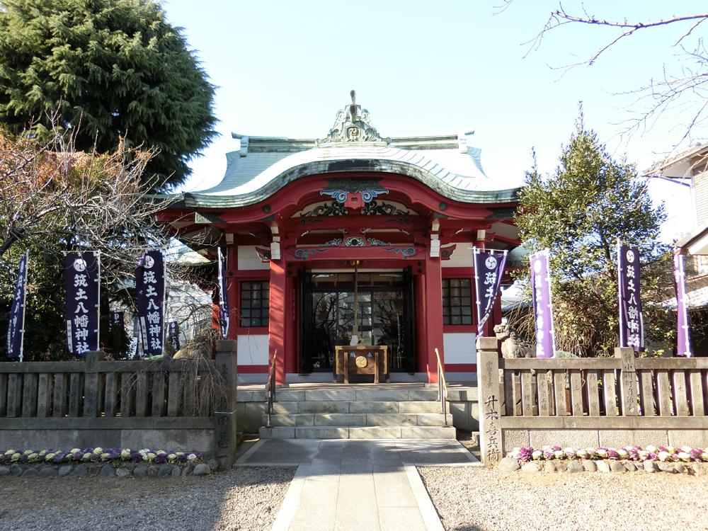 筑土八幡神社の紹介