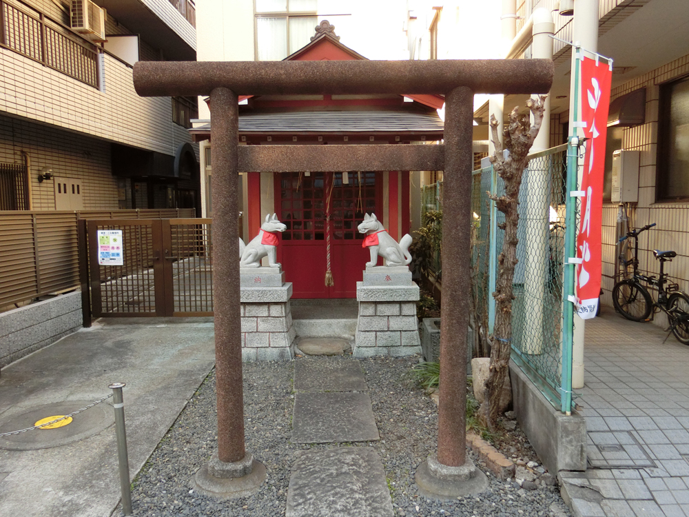 改代稲荷神社の紹介
