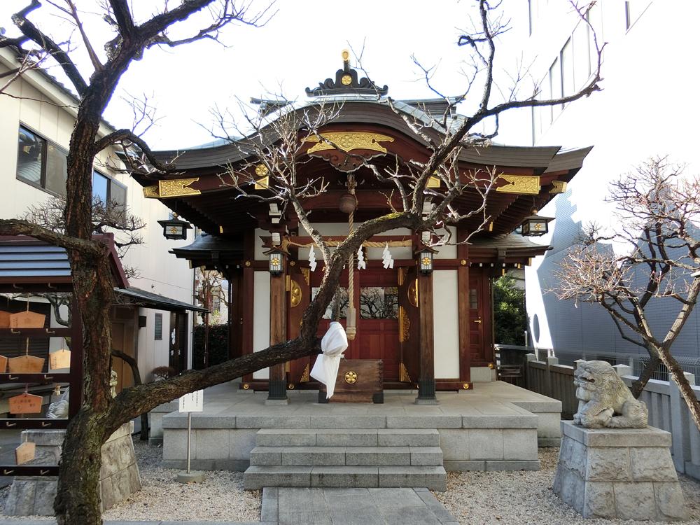神楽坂にある北野神社の紹介