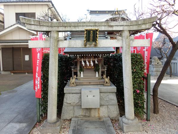 北野神社の境内社である豊玉稲荷神社