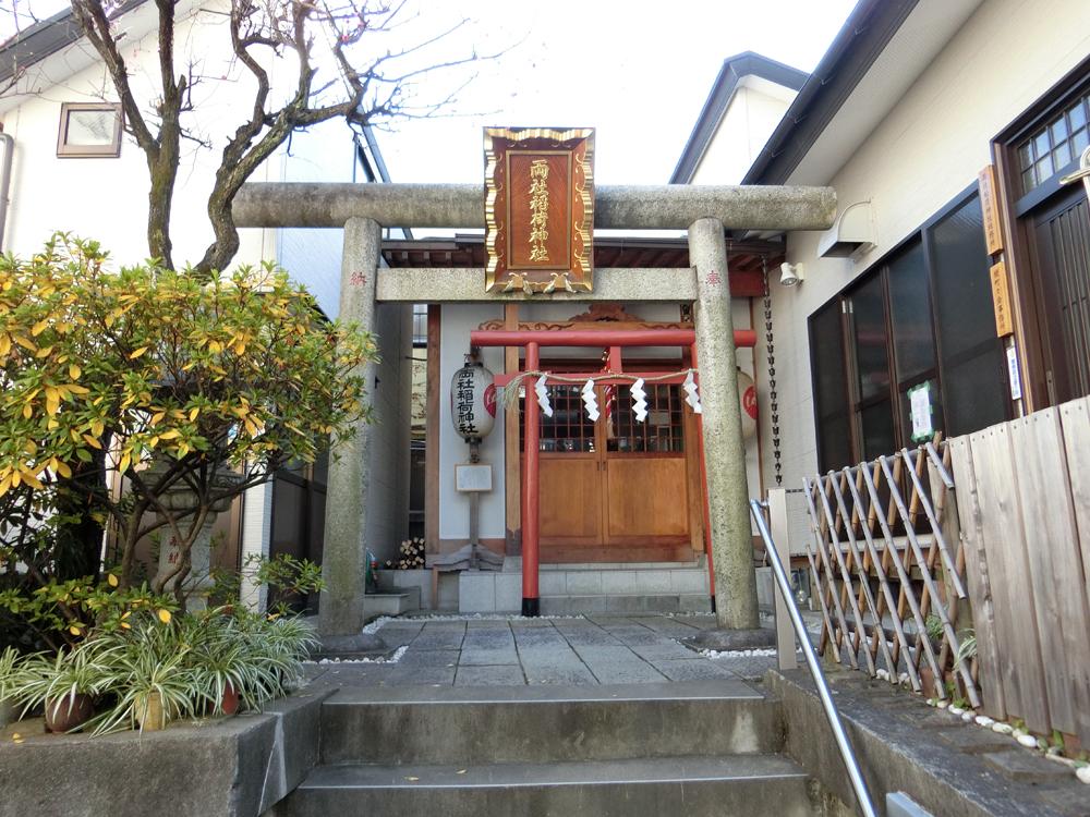 神楽坂にある両社稲荷神社の紹介