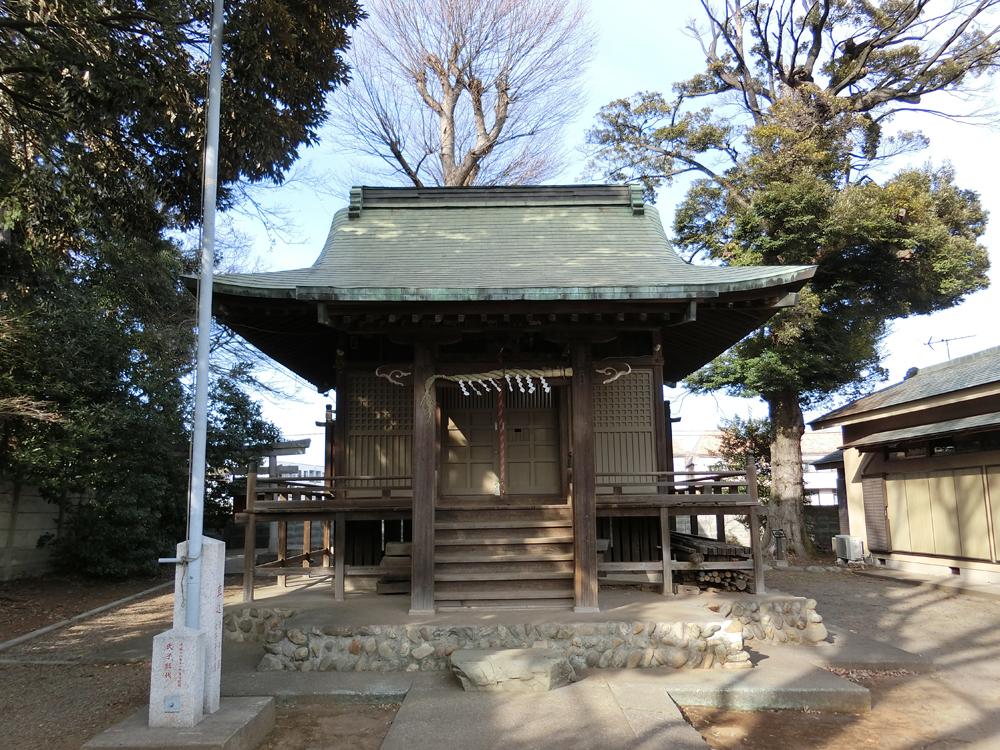 車返八幡神社の初詣
