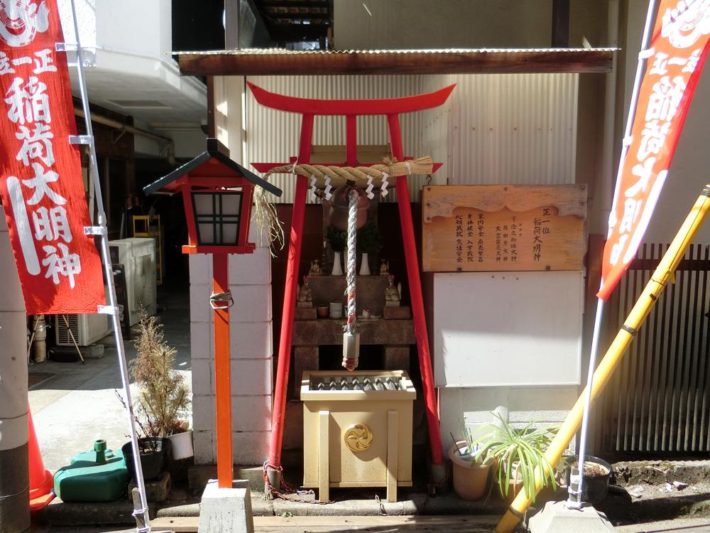 西荻窪伏見稲荷神社の紹介