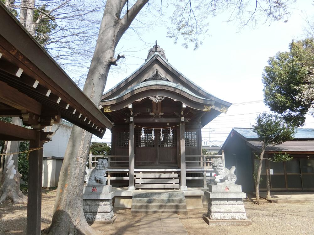 車返諏訪神社の紹介