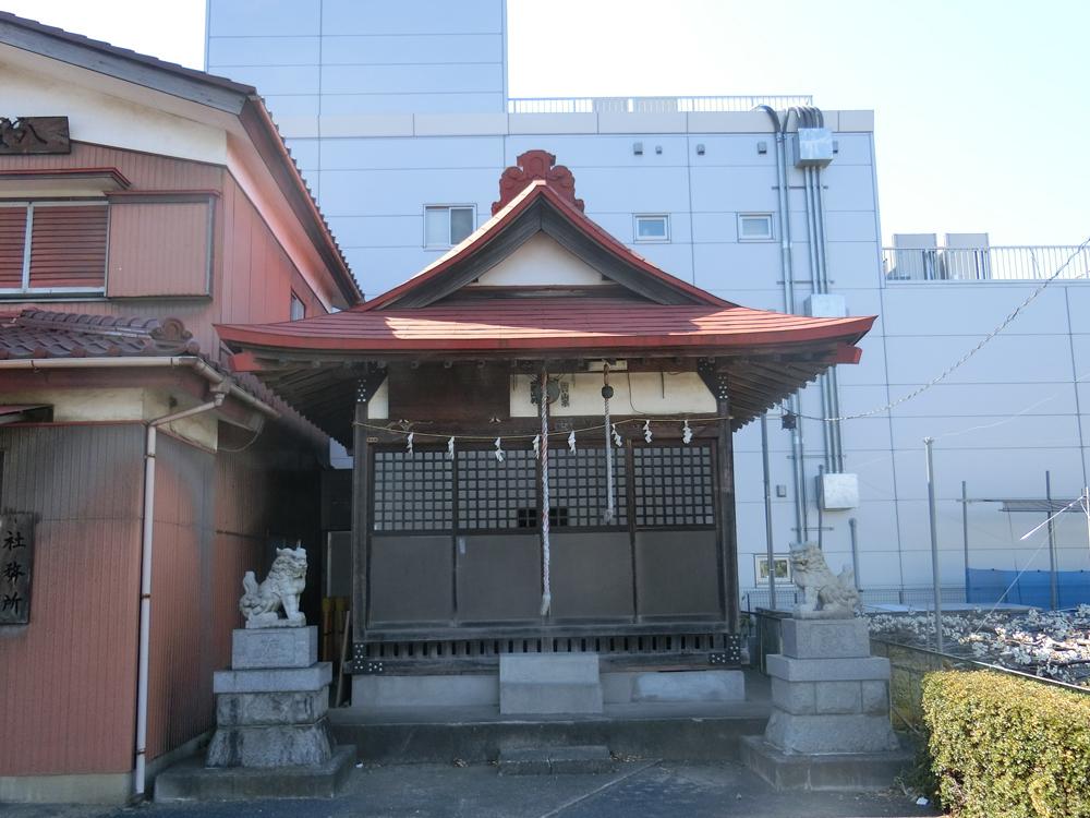 稲城八坂神社の紹介