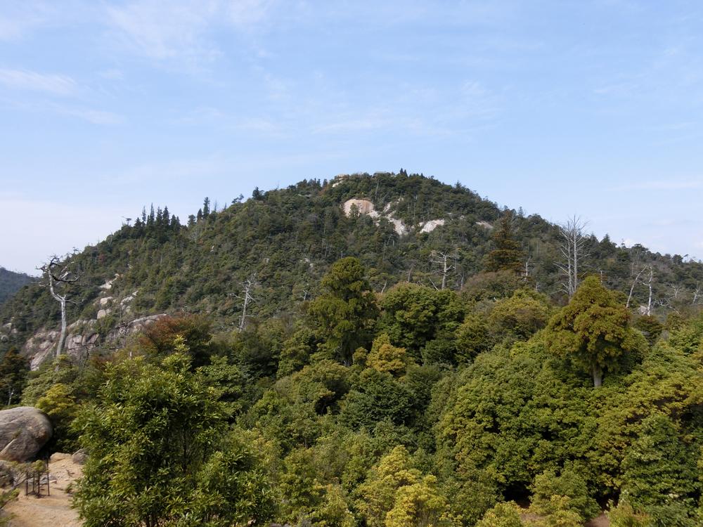 宮島にある弥山
