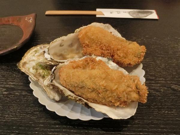 牡蠣屋の牡蠣フライ