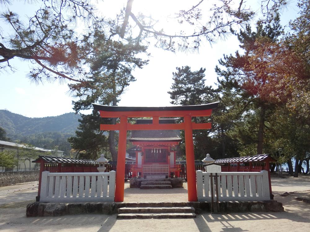 宮島にある清盛神社の紹介