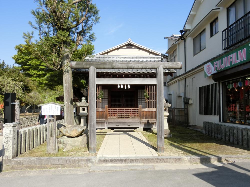 宮島にある金刀比羅神社の紹介