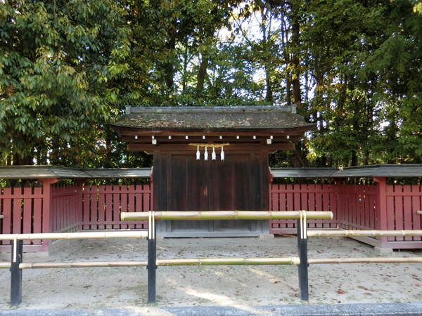 厳島神社の裏門