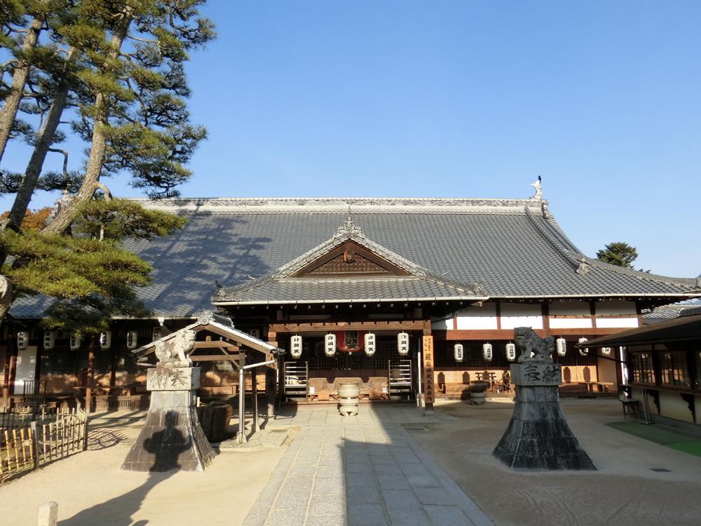 宮島にある大願寺の紹介