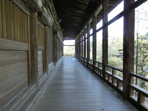 千畳閣の廊下