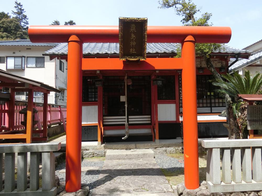 宮島にある粟島神社の紹介