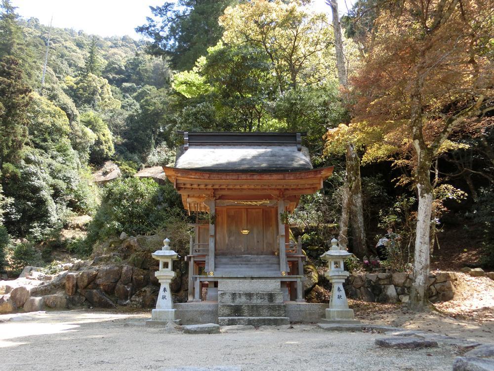 宮島にある滝宮神社の紹介