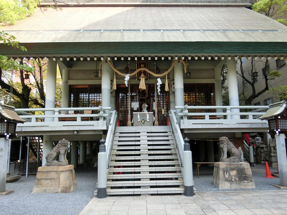 広島市にある白神社の紹介
